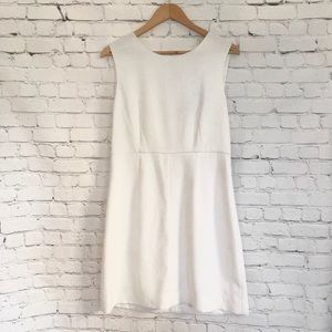 Diane Von Furstenberg White Size 12 Dress